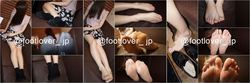 [Image + Video] Socks that have sweated well in a 19-year-old hostess! Pantyhose foot! Barefoot with thread waste! Underwear!