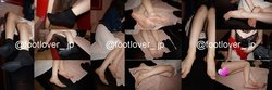 [Image + video] reunion of the first time in two years! Socks and stockings put on layers of beautiful OL in the early 20s! Bare feet! Bra & Raw Underwear!