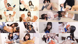 [With bonus video] Rika's foot torture and tickling series 1-4 collectively DL