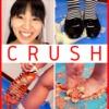 [Crush Fetish # 17] [4K] Miwa-chan's Food Crash Black Low Heel Pumps / Border Socks / Barefoot