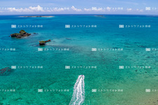 Aerial photography / uruma city / Hama-Higa Island UH1743