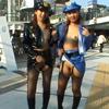 【ジャネス】街中で公開ゲリラプレイでレズる露出好きな女たち #006