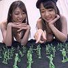 [With bonus movie] annihilated! Cruel army samurai play of two pretty girls! ! [Abemikako & Aoi Reina]