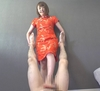 ■②今井杏樹の健全足踏みリフレ店で本番強要したら金蹴り!踏みつけ!電気アンマで強○発射!