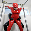 Rubber Mania Style ~ A woman who was illegally intruded and trained in an iron pipe restraint rubber and became a rubber man's pet ~