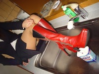 Wet&Messy Shoes画像集034