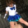 【JAMS】仲咲千春のセーラーヒロイン ガリ狩り!キューティー巨尻 #001
