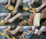 [Video] Sole treasure hall ★ banana peeling ☆ Seika