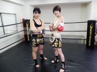 Agony kick boxing 002 Hinako Hinata vs Miujima