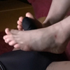 "Footjob! Black hair JK Kazuha ④ ""Sub camera"" FETK00590"
