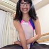 【クリスタル映像】美脚×競泳水着×パンスト眼鏡 #013