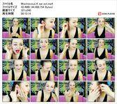 [Ear fetish video] Ukrainian beauty Misuku-chan seems to be alive with ear swab