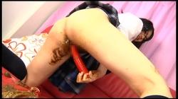 【FetishJapan】脱糞して膣に詰める変態日本女子 #010