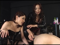 【ジャネス】真性女王様と痴女×M男 #005