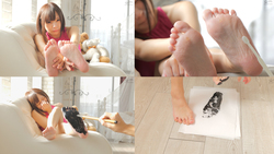[Sole & Tickling] Popular actress Mio Ichijo's sole tickling hell! (Series V 2/7)