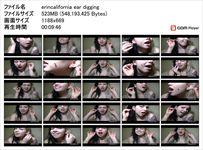 【耳フェチ動画】南米美女エリカのセクシー耳掃除